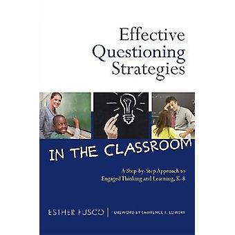 Effektiva förhör strategier i klassrummet - en steg för steg-App