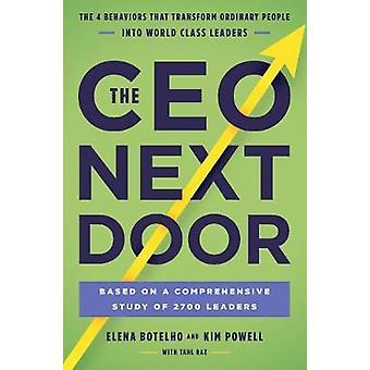 La puerta siguiente del CEO - los 4 comportamientos que transforman gente ordinaria en