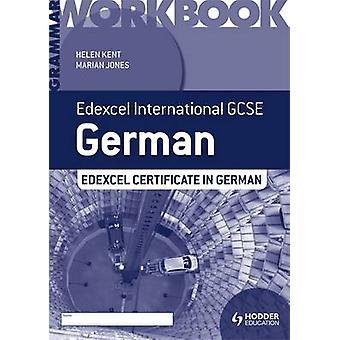 Edexcel International GCSE e certificato grammatica tedesca cartella di lavoro di