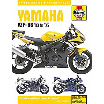 Yamaha YZF-R6 Service and Repair Manual - 2003-2005 by Matthew Coombs