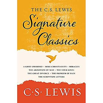 The C. S. Lewis Signature�Classics: An Anthology of 8 C.�S. Lewis Titles: Mere�Christianity, the Screwtape�Letters, Miracles, the Great�Divorce, the Problem of Pain,�a Grief Observed, the�Abolition of Man, and the Four�Loves