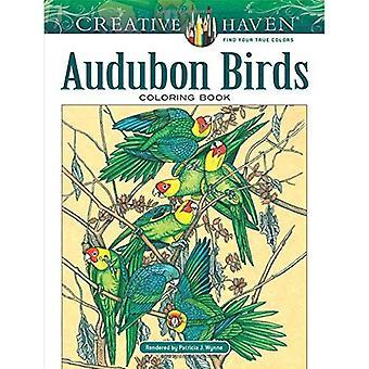 Creative Haven Audubon Birds�Coloring Book