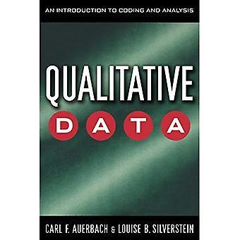 Datos cualitativos: Una introducción a la codificación y análisis (estudios cualitativos en Psicología)