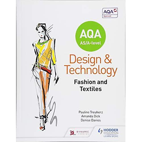 AQA AS A-Level Design and Technology  mode and Textiles (Paperback)