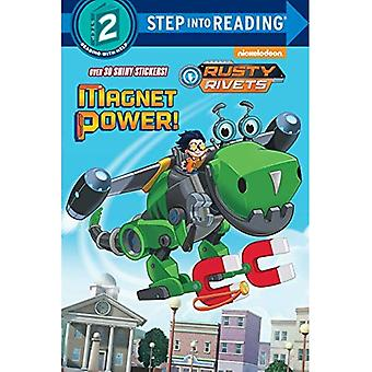 Magnet Power! (Rusty Rivets) (Step Into Reading - Level 2)