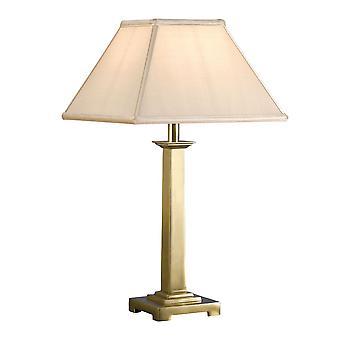 Pelham sólido latón mesa lámpara - Base de la solo - interiores 1900 ABY1019AB