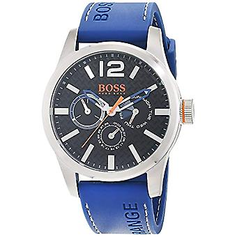 Hugo Boss Orange mens quartz watch 1513250, multi display dial and silicone strap