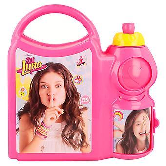 Soy Luna YES! 2i1 Matlåda Och Vattenflaska Med Handtag