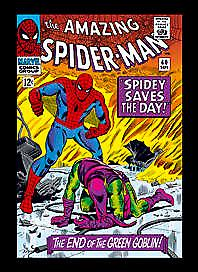 Marvel Spiderman Comic Cover fridge magnet 668    Marvel comics