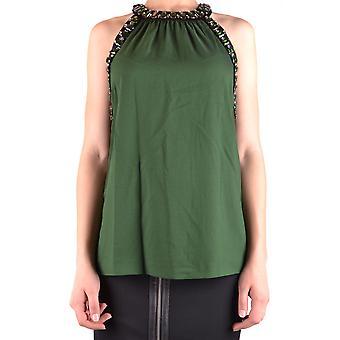 Michael Kors Green Polyester Top