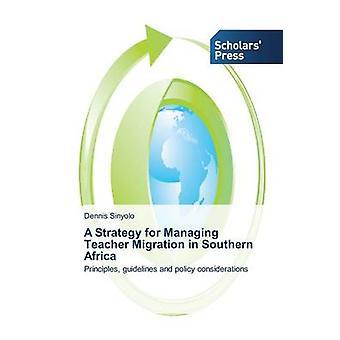 Una strategia per la gestione dei flussi migratori di insegnante in Sud Africa da Sinyolo Dennis