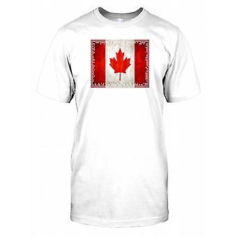 Canada Flag - Patriot Kids T Shirt