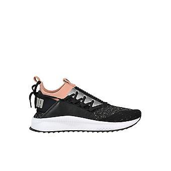 PUMA schwarz Stoff Sneakers