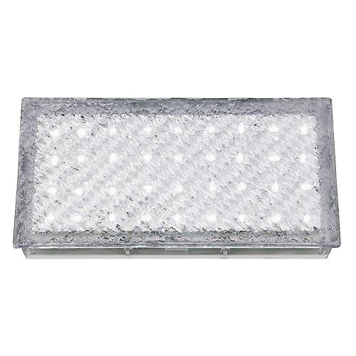 Searchlight 9915WH Led Recessed Clear Rectangle Walkover White Led IP68