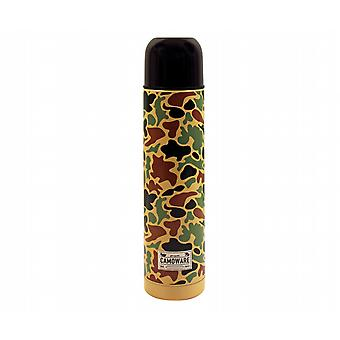 Camouflage Vacuum Thermos Flask With Cup (500ml)