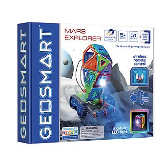 GeoSmart Mars Explorer With Wireless Remote Control Magnetic Play 51 PCs