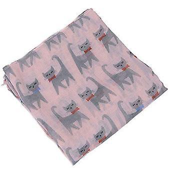 & reg; Weibchen große Sommerkatzen-Chiffon übergroßen langen Schal verpackt dünnen Stil Schal
