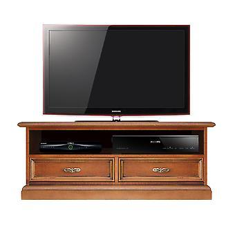 Low Soundbar TV holder 1 compartment 2 drawers