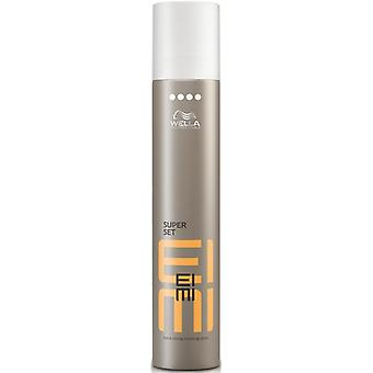 Acabamento Extra forte Super conjunto de Wella EIMI Spray 500 ml