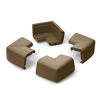 Cushiony Jumbo Corner Guards Chocolate