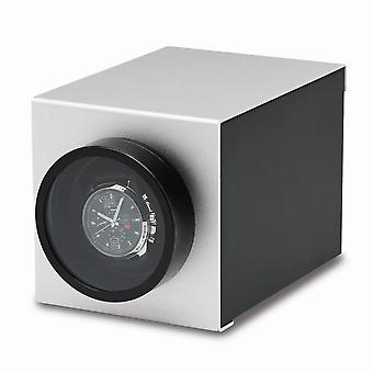 Rotations Silver Wooden & Aluminum 1-watch Winder