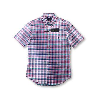 Ralph Lauren tretch lim fit hirt in pink/green/blue check