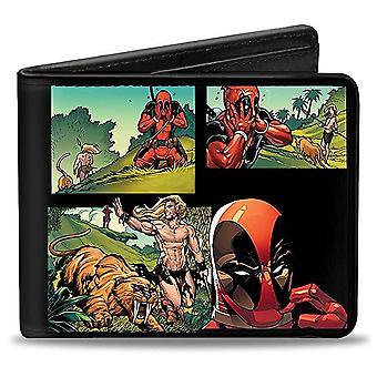 Portemonnee-Marvel-V. 10 Bi-fold speelgoed nieuwe gelicentieerde puw-DPE