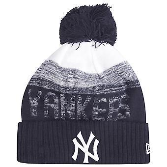 Cappello invernale in fuga della Nuova Era MLB - NY Yankees