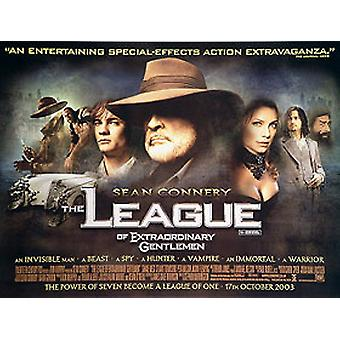 The League Of Extraordinary Gentlemen (Double Sided) Original Cinema Poster