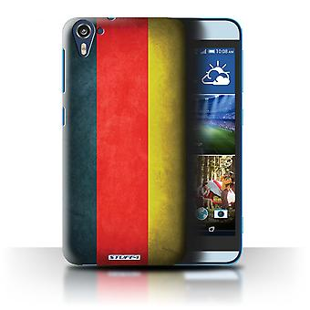 STUFF4 Case/Cover for HTC Desire 826/Germany/German/Flags