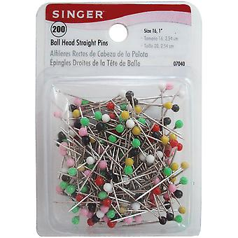Ball Head Straight Pins Size 16 200 Pkg 7040