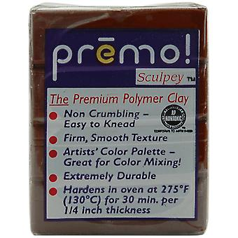 Premo Sculpey Polymer Clay 2 Ounces Burnt Umber Pe02 5053