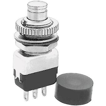 Pushbutton 220 Vac 2 A 1 x On/(Off) APEM 10435A momentary 1 pc(s)