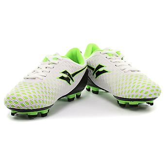 Gola Ativo 5 Ion Blade White Kids Football Boots UK 12