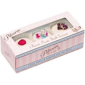 Rose & Co. Patisserie de Bain Gift Box of 3 Fancies