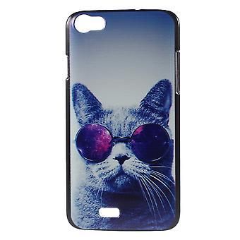 Cat cover with plastic glasses for PC Kiritkumar Lenny