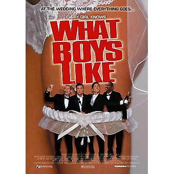 What Boys Like Movie Poster Print (27 x 40)
