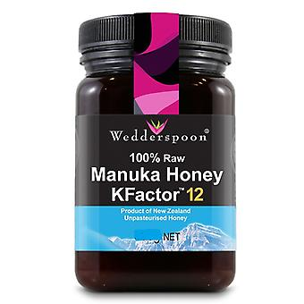 Wedderspoon, RAW Manuka Honey KFactor 12+, 250g