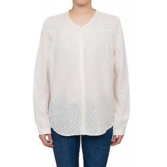 Lee standard blouse blouse women's regular long sleeve blouse white