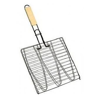 Alperk Nonstick Fish Grill 28 x 28 x 56 cm. (Garden , Barbecues , Cooking tools)
