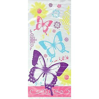 Party bags - Butterfly pattern - pack of 20
