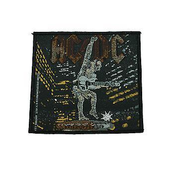 AC/DC Stiff Upper Lip tessuto Patch