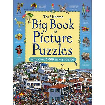 Big Book of Picture Puzzles (Usborne Great Searches) (Paperback)