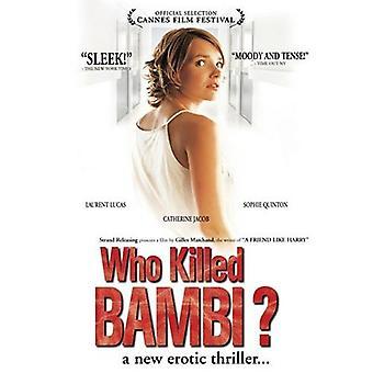 Der dræbte Bambi [DVD] USA importerer