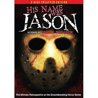 His Name Was Jason [DVD] USA import