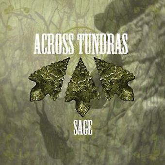 På tværs af Tundras - Sage [CD] USA importerer