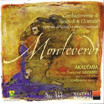 C. Monteverdi - Monteverdi: Combattimento Di Tancredi & Clorinda [CD] USA import