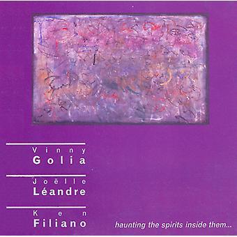 Golia Leandre Filiano Trio - jagende spiritus inde i dem [CD] USA importen