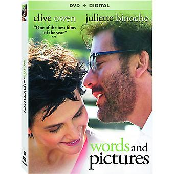 Words & Pictures [DVD] USA import