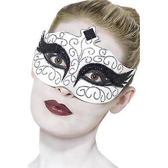 Swan Swan mask eye mask white Ballet mask